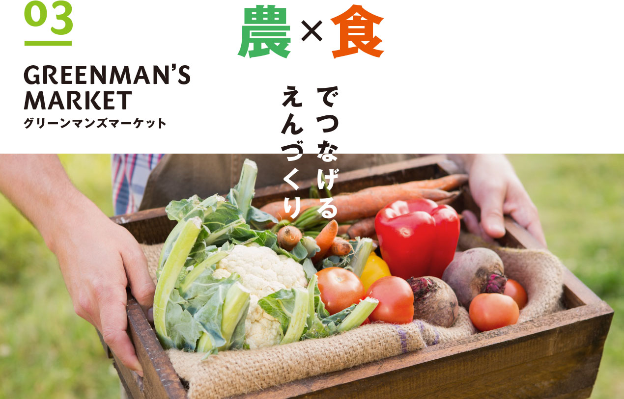 03:GREENMAN'S relate your world by FARM and EAT for PC